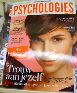 Coach Wim in Psychologies Magazine life coach Wim Annerel