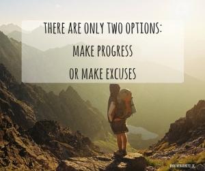 Life coach over excuses om jouw dromen niet te realiseren