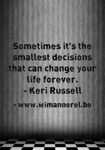 Beslissen of decision making heeft een grote impact volgens mental coach wim