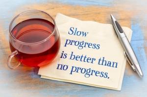 Vooruitgang levert motivatie op
